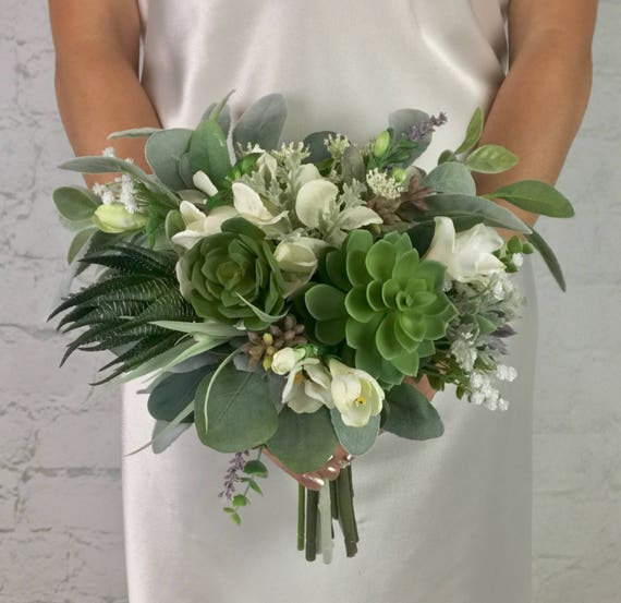 wedding bouquets with succulents wedding bouquet bridal bouquet succulent bouquet greenery 8545