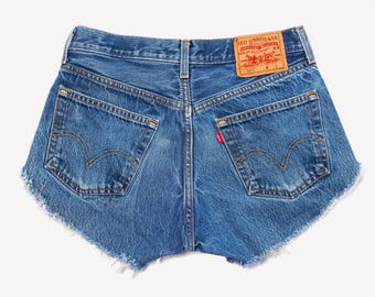 Vintage Levis Denim Cut-Off Shorts