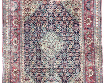 Antique Tabriz Rug 1.75m x 1.38m
