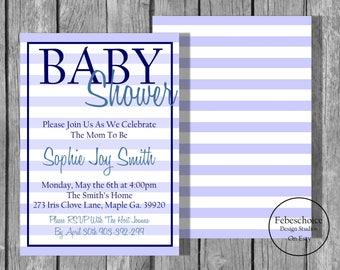 Baby Shower Invitation / Printable Baby Shower Invitation Gender Neutral / Shower Invitations / Baby Shower Invitation / Shower Invite
