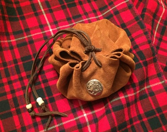 Leather tinder pouch