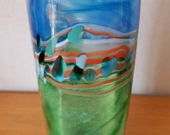 Hand Blown Glass Vase by Australian Artist Marc Kalifa