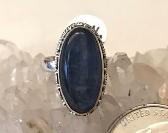 Kyanite Ring Size 7 1/2