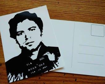 Ted Bundy Postcard