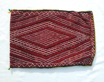 Vintage berber pillow CASE , Decorative pillow, handmade moroccan pillow