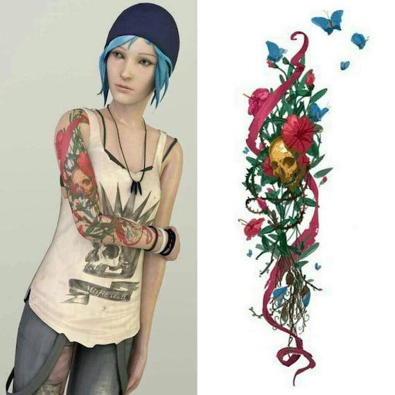Custom Cosplay Tattoo Chloe Price Life Is Strange