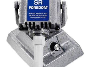 Foredom SR Flex Shaft Bench Motor with Built-in Dial Control M.SRM