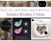 Birds 2 Pack Needle Minder / Needle Keeper