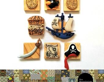 Pirate Fridge Magnet Set