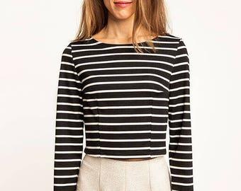 Named Clothing: Kanerva Button Back Shirt + Peplum Blouse