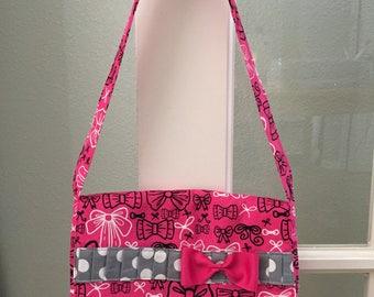 Pink Bow Bag