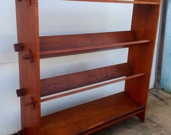 Unusual Vintage Bookcase