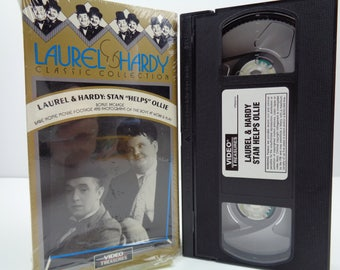 Laurel and hardy stan helps ollie VHS Tape