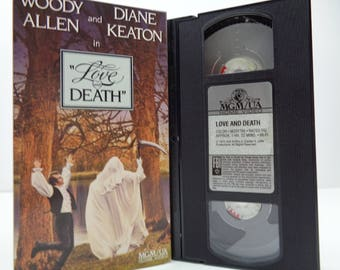 Love And Death VHS Tape