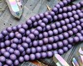 purple beads, 10mm beads, wood beads, round beads, natural beads, natural purple beads, wood land beads,