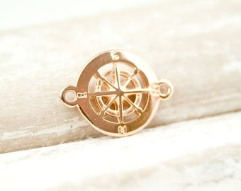 "1pcs. compass 0,59"" 2 eyes, plated"