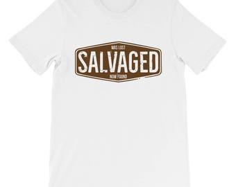 Salvaged Unisex short sleeve t-shirt