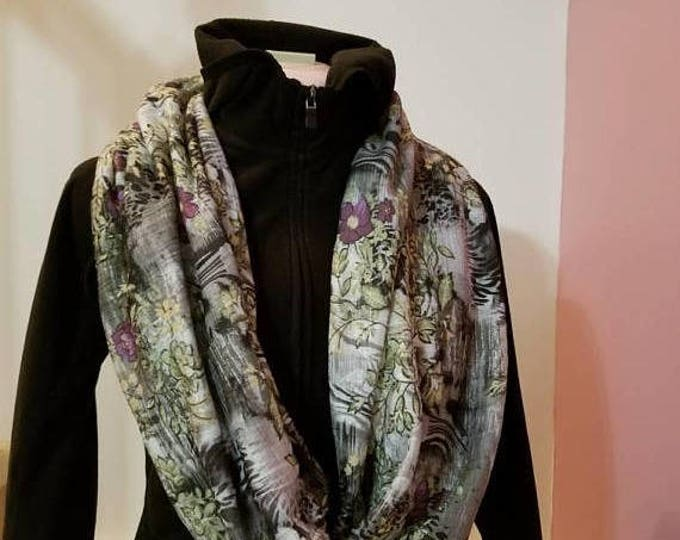 A one of a kind Infinity scarf