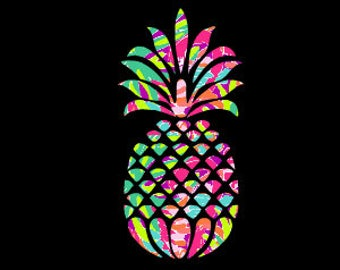 Car Decal - Pineapple - Pineapple Decal - Pineapple Wall Decal - Southern Decal - Pineapple Sticker - Car Decal