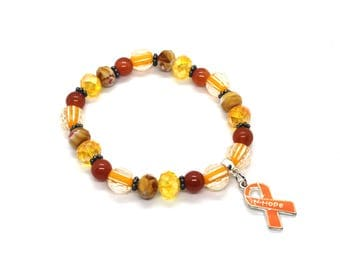 Rsd Awareness, Leukemia Awareness, Leukemia Bracelet, Leukemia Survivor, MS Awareness, Rsd, Multiple Sclerosis Awareness, RSD, CRPS Bracelet