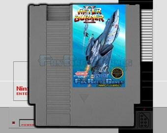 """SPECIAL ORDER! """"Afterburner 2"""" Unreleased Nintendo NES Sega Shooter, Awesome!!"""