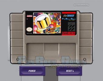 "SPECIAL ORDER! ""Super Bomberman 4"" Unreleased Super Nintendo SNES Puzzle Platformer!"