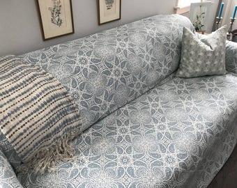Modern Farmhouse SofaScarf Magnolia Home Fabric / Only 1 Available