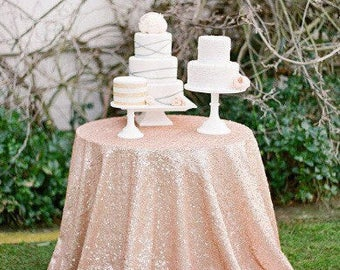 Sequence Tablecloth, sequin tablecloth, Blush sequence, Baby shower, sequence tablecloth, gold table overlay, table runner, wedding
