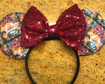 Pink Alice in Wonderland Ears
