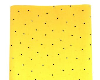 Yellow Polka Dot Fabric / Yellow Dot Fabric / Timeless Treasures C-6428 / Yellow Fabric / Quilting Fabric / Fabric by the Yard