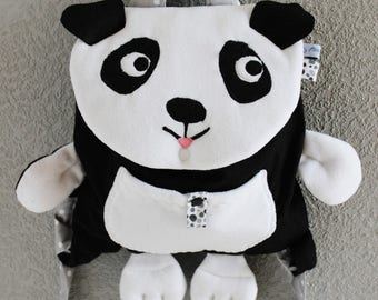 """Little Panda"" backpack! adorable kids nursery, nursery, etc..."