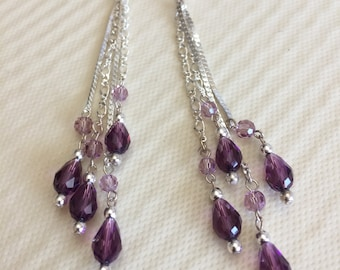 Drop Dead Gorgeous Drop Crystal Earrings