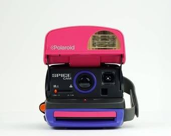 POLAROID 600 Spice Cam Instant Film Camera -  *Discount Polaroid Originals 600 Colour Instant film Pack offer with this Camera*