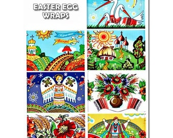 7 Fantasy Easter Egg Wraps