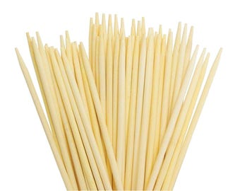 Wooden Dowels - Slightly Pointed