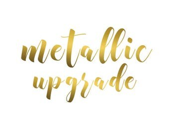 UPGRADE | Metallic Texture - Wedding Seating Chart TITLE only