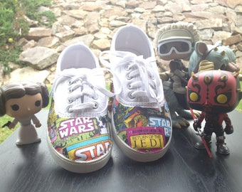 Star Wars Inspired Custom Shoes
