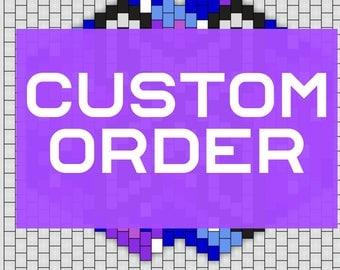 CUSTOM ORDER - reserved for walkerdouglas