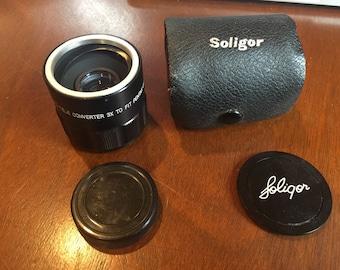 Soligor Auto Tele Converter 3X to Fit Pentax Lens . Converter lens