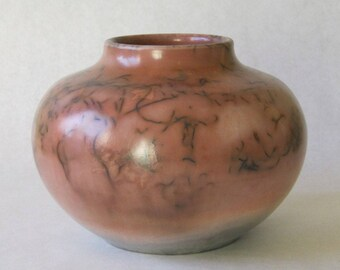 saggar fired ceramic vessel 17-017