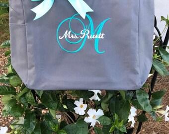 7 bridesmaid tote bags , bridesmaid gifts , tote bag , beach bag , bachelorette party gift ,wedding bag