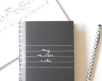 Music notebook | Etsy