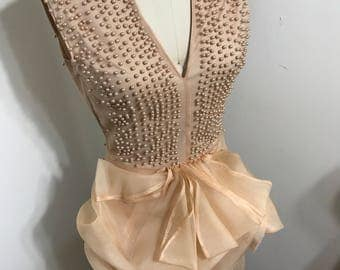 One of a kind Pearl Dress