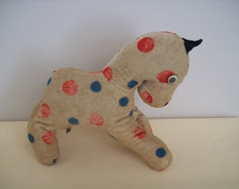 "Gund ""Poni"" Musical Plush 8-Inches 1950s"