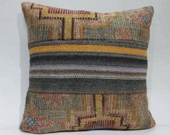 embroidery designs tissu azteque kilim seat cushions for chairs turkish pillow kilim cushion 20x20  kilim turkish cushion covers  1481