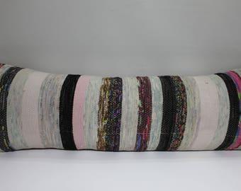 euro pillow covers 12x36 white and black lumbar pillow designer lumbar pillows 12x36 bohemian bedding bohemian
