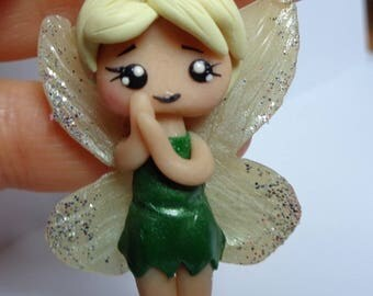 Doll/trilly/Fimo necklace/Polymer paste/Disney characters/doll/Chibi Kawaii