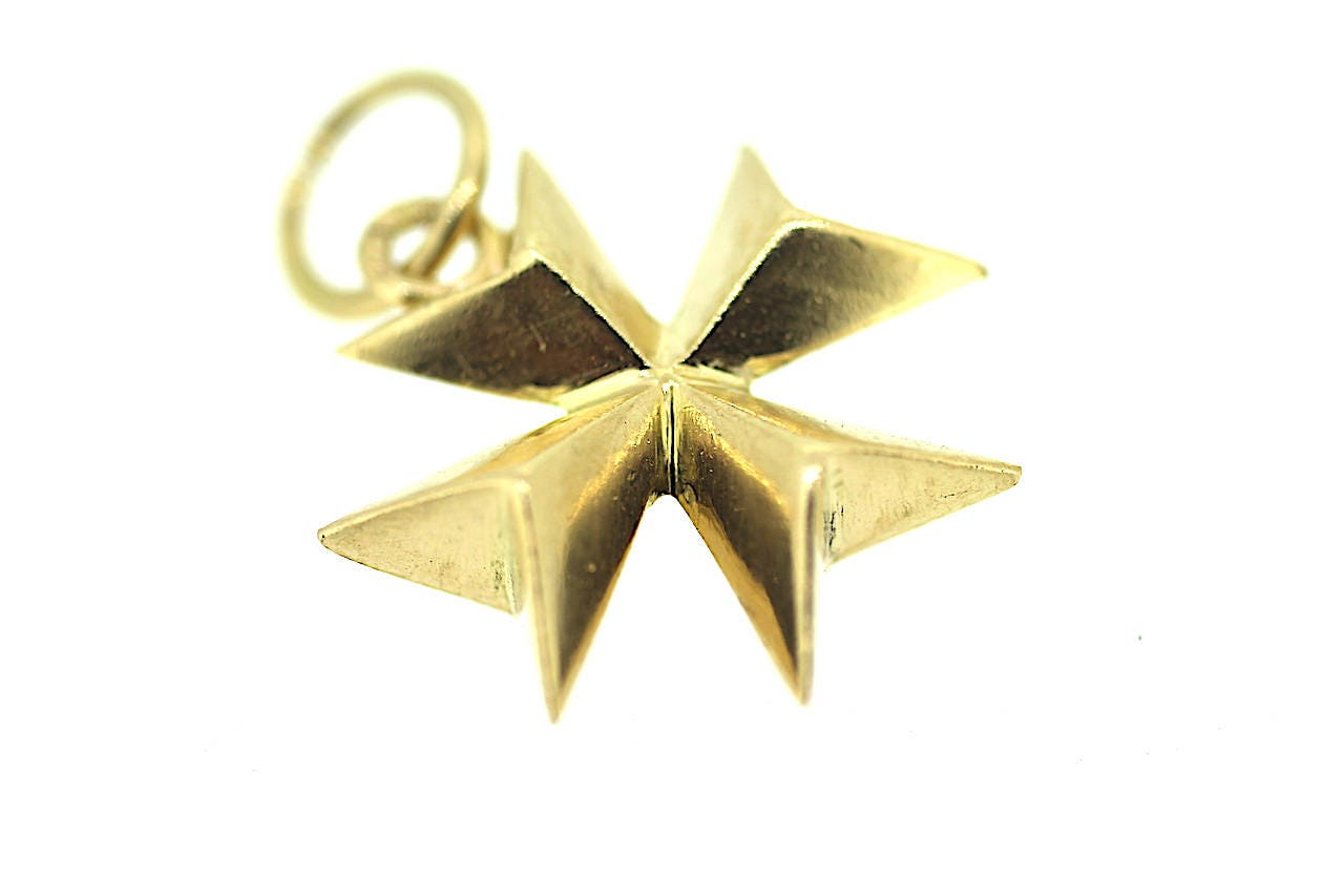 Vintage maltese cross maltese cross charm maltese cross pendant vintage maltese cross maltese cross charm maltese cross pendant gold maltese cross aloadofball Image collections