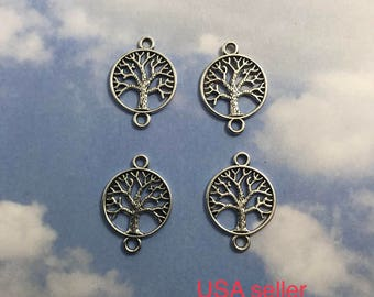 20 Tree of Life charms / pendante