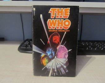 The Who, George Tremlett, A Futura Book 1975